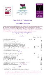 wine list January 2012.pub - Bayfront Bistro