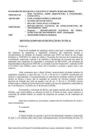Pregão 180/2012-16 - Sinaenco