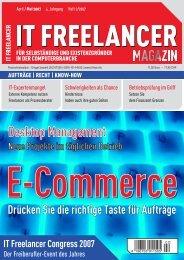 IT Freelancer Magazin Nr. 2/2007