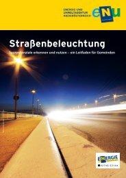 Leitfaden zur Straßenbeleuchtung - Umwelt-Gemeinde-Service