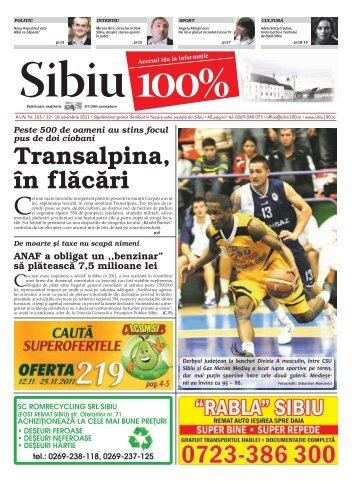 Transalpina, în flăcări - Sibiu 100
