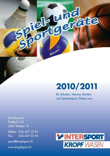 2010/2011 - Kropf Sport