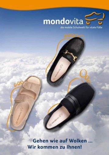Gehen wie auf Wolken ... Wir kommen zu Ihnen! - MondoVita