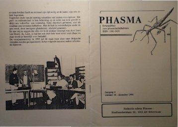 PHASMA - Phasmid Study Group