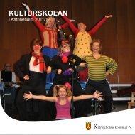 KULTURSKOLAN - Katrineholms kommun