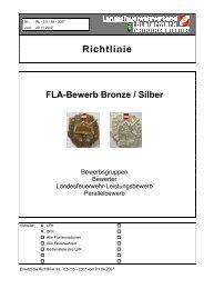 FLA-Bewerb Bronze / Silber