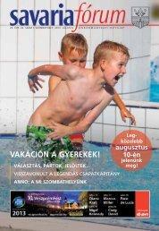 vakáción a gyerekek! választás, pártok, jelöltek… - Savaria Fórum