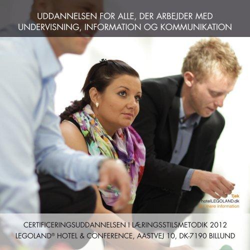 uddannelsen for alle, der arbejder med undervisning, information og ...