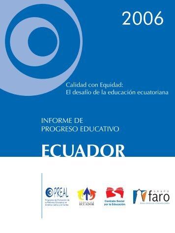 El desafío de la educación ecuatoriana - OEI