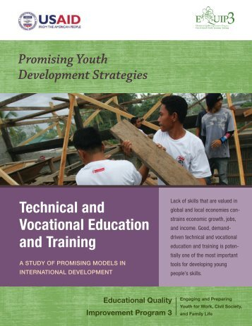 Technical and Vocational Education and Training: A ... - EQUIP123.net