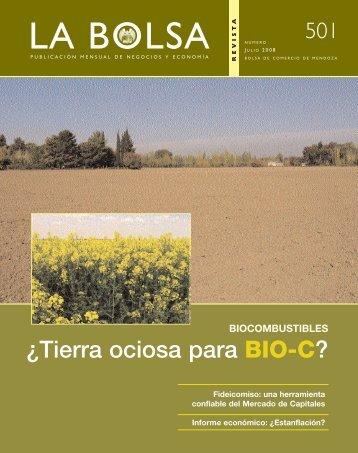 julio 08 - Bolsa de Comercio de Mendoza