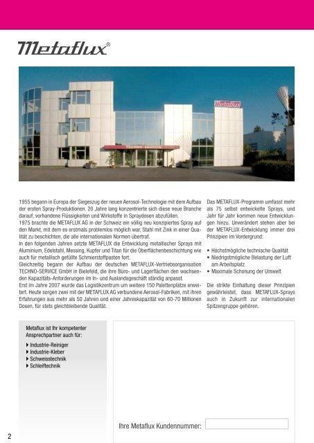 Qualitätssprays - Lastechniek - Holland BV