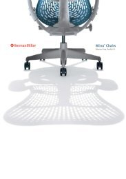 Mirra chairs - Advanced Memory Foam Products