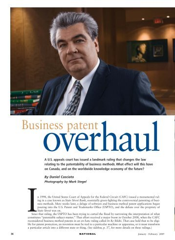 Business patent