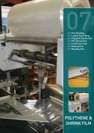 POLYTHENE & SHRINK FILM - Centrapak