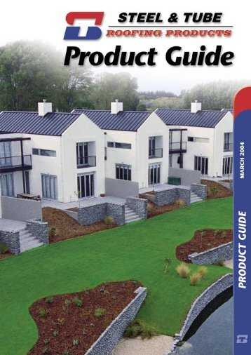 S & T Product Guide - MJL Roofing Limited