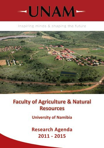 Faculty of Agriculture & Natural Resources - University of Namibia
