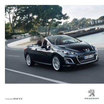 Tilbehør 308 CC - Peugeot