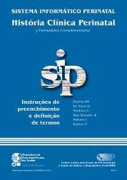 História Clínica Perinatal - CLAP