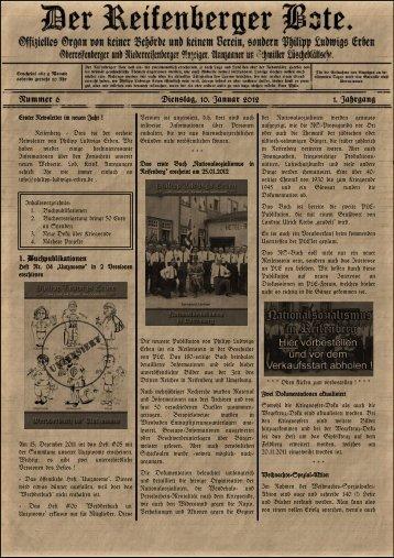 Reifenberger Bote - Ausgabe 6.pdf - Philipp Ludwigs Erben