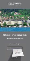 Willkommen am schönen Zürichsee. - Steigenberger Hotels and ...