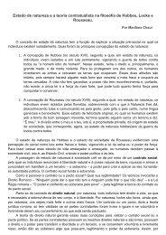 estado e contratualismo em hobbes, locke e rousseau - Associação ...