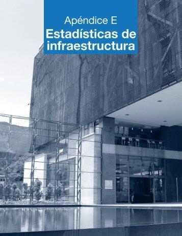Apéndice E. Estadísticas de infraestructura - Universidad El Bosque