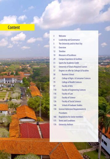 General Pages - University of Ghana
