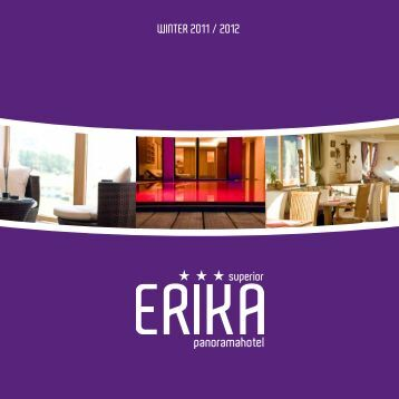 PAcKAGES WINTER 2011 / 2012 - Hotel Erika