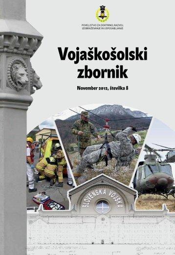 Vojaškošolski zbornik - Slovenska vojska