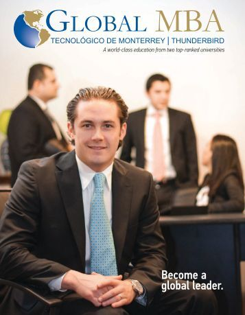 Become a global leader. - Thunderbird School of Global Management