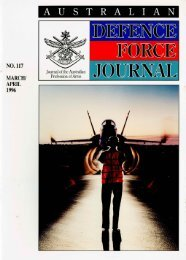 ISSUE 117 : Mar/Apr - 1996 - Australian Defence Force Journal