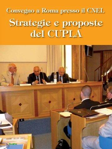 Strategie e proposte del CUPLA - CNA Pensionati