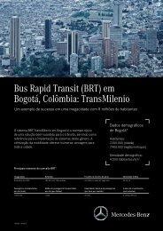 Bus Rapid Transit (BRT) em Bogotá, Colômbia: TransMilenio