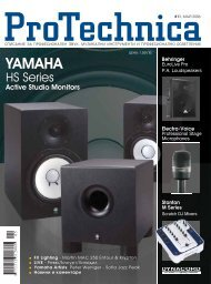 YAMAHA YAMAHA - Pro Audio & Lighting Magazine