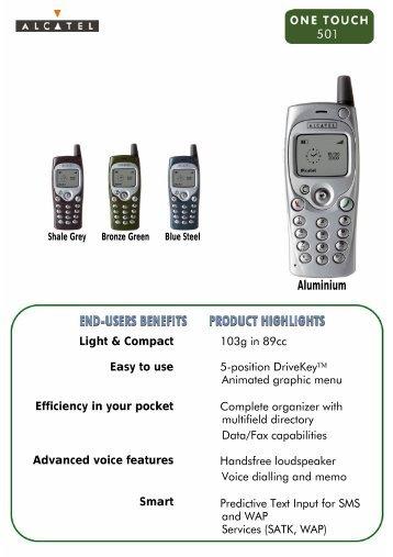 Aluminium - Telekomunikacije