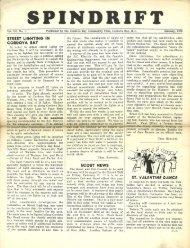 spindrift jan 1950 - Cordova Bay Association for Community Affairs