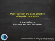 Model selection and signal detection A Bayesian perspective