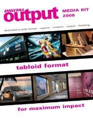 tabloid format - Digital Output Magazine