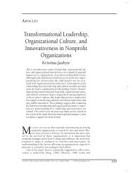 Transformational leadership, organizational culture, and ...