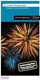 ZVV-Broschüre Fahrplan Silvesterzauber 2012/13 - Ausflugstipps ...