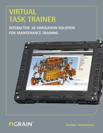 Brochure: Virtual Task Trainer - NGRAIN