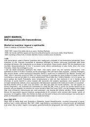 Leggi il testo in catalogo del curatore Francesco Nuvolari - Artelab