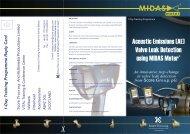 Acoustic Emissions (AE) Valve Leak Detection using MIDAS Meter.ai