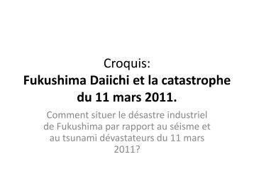 Croquis Fukushima: - Histoire géographie Dijon