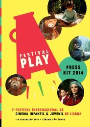 PRESS KIT 2014 - PLAY – Festival Internacional de Cinema Infantil ...