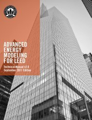 advanced energy modeling for leed - Green Building Certification ...