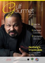 Nothing's Impossible - The Emirates Culinary Guild