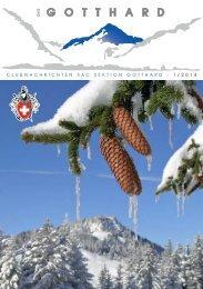 Clubnachrichten - SAC-Gotthard
