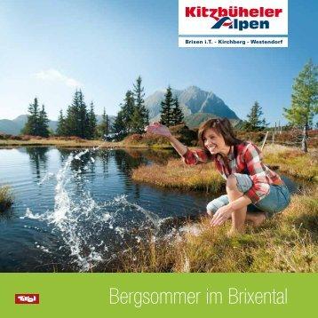Bergsommer im Brixental - Hotel Sportalm
